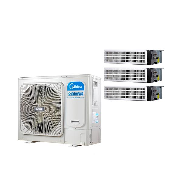 美的 一拖三变频一级能效 多联风管机 4匹 家用中央空调 MDS-H100W(E1)