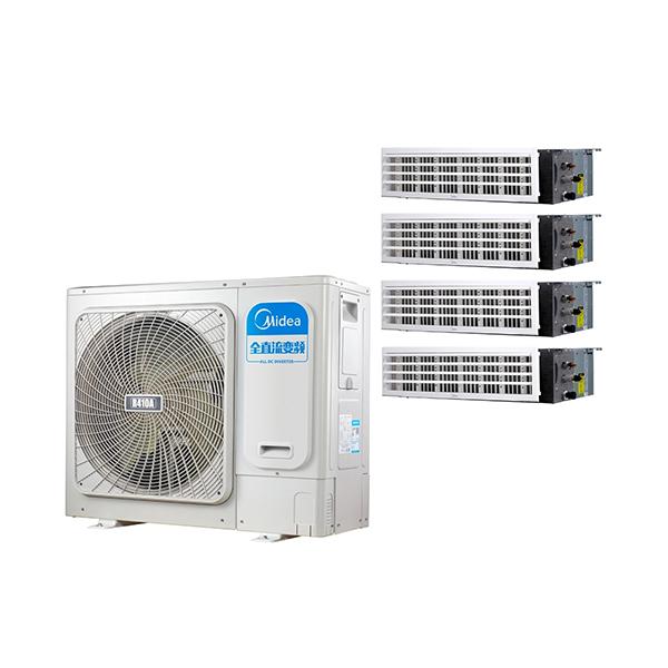 美的 一拖四变频一级能效 多联风管机 5匹 家用中央空调 MDS-H120W(E1)