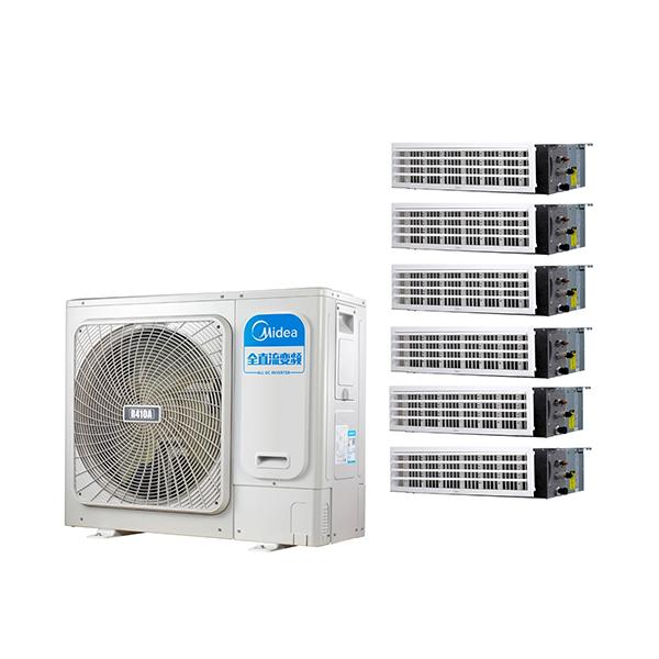 美的 一拖五变频一级能效 多联风管机大6匹 家用中央空调 MDS-H160W(E1)